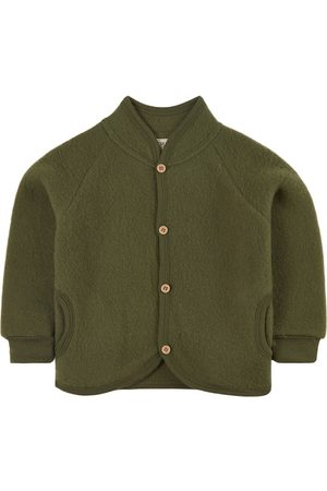 Kuling Moss Wool Fleece Jacket - 62/68 cm - - Fleece jackets
