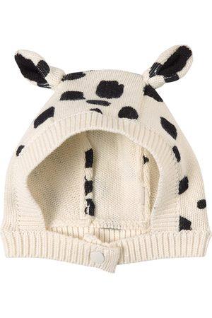 Stella McCartney Kids - Dalmation Spots Knitted Hat - 3-6 months - - Baby beanies