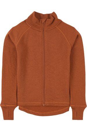 Kuling Rust x Inspobyme Wool Terry Fleece Jacket - 86/92 cm - - Fleece jackets