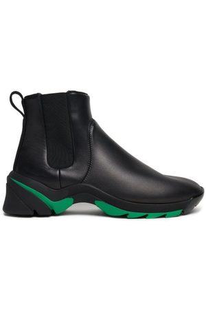 Bottega Veneta Men Chelsea Boots - Exaggerated-sole Leather Chelsea Boots - Mens