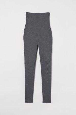 H&M Women Sweats - MAMA Ribbed Leggings