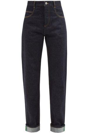 Bottega Veneta High-rise Straight-leg Jeans - Womens - Denim
