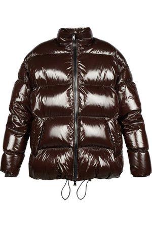 Bottega Veneta Drawstring-hem Quilted Shell Jacket - Womens - Dark