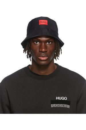 HUGO BOSS Men Hats - Black Box Logo Bucket Hat