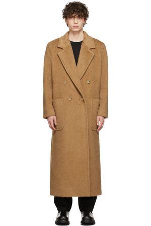 Max Mara Men Coats - Tan Camel Wool Coat
