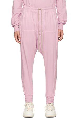 Rick Owens Pink Drawstring Prisoner Lounge Pants