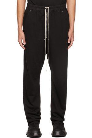 Rick Owens Men Sweats - Black Bela Lounge Pants