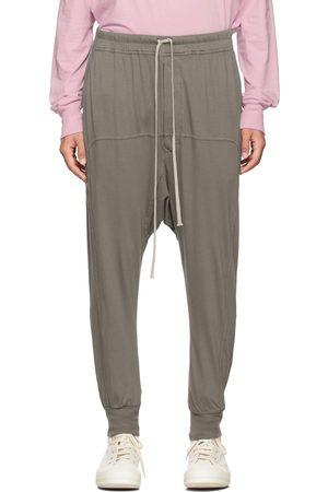 Rick Owens Brown Drawstring Prisoner Lounge Pants