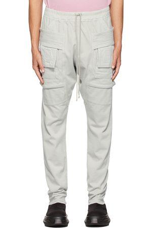 Rick Owens Grey Creatch Cargo Pants