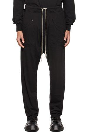 Rick Owens Black Long Cargo Pants
