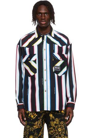 VERSACE Men Shirts - Multicolor Stripe Shirt