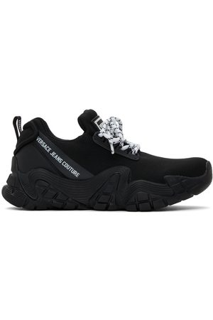 VERSACE Men Sneakers - Black Impulse Sneakers