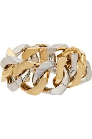 Givenchy Silver & Gold G Chain Bracelet