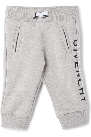 Givenchy Baby Grey Split Logo Lounge Pants