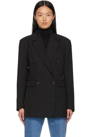 By Malene Birger Women Blazers - Black Siw Double-Breasted Blazer