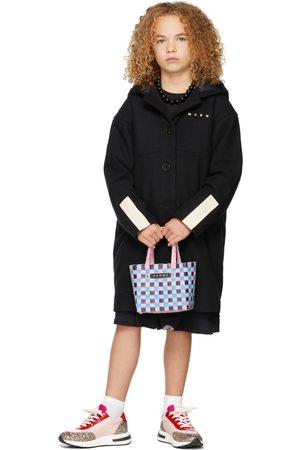 Marni Jackets - Kids Wool Hooded Jacket