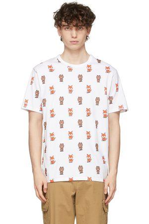 Maison Kitsuné LINE FRIENDS Edition All Over Print T-Shirt