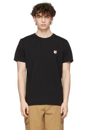 Maison Kitsuné Black Fox Head Patch T-Shirt