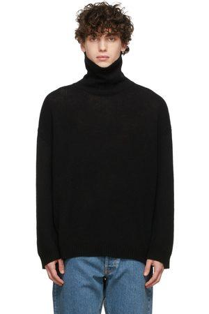 VALENTINO Black Cashmere Turtleneck