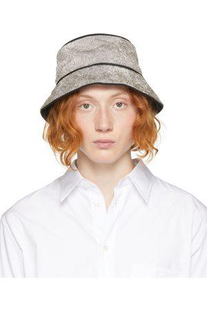 KARA Crystal Mesh Bucket Hat