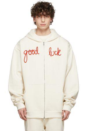 Mr. Saturday Off-White Good Luck Zip Hoodie
