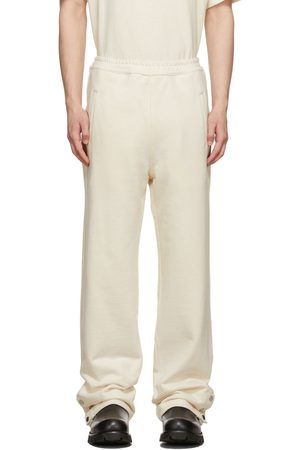Mr. Saturday Off-White French Terry Lounge Pants