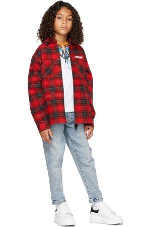 MARCELO BURLON Kids Grizzly Wings Long Sleeve T-Shirt
