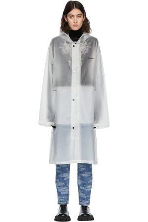 Vetements Women Rainwear - No Mainstream Raincoat