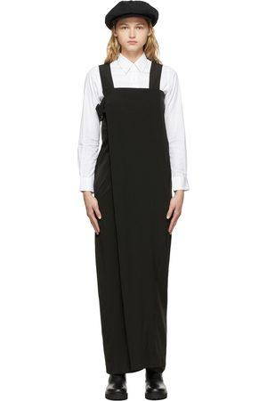 Y'S Women Jumpsuits - Black Wrapped Jumpsuit