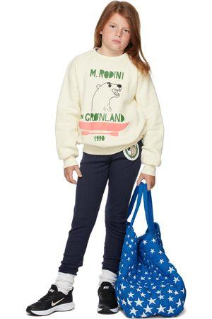 Mini Rodini Kids Off-White Polar Bear Sweatshirt
