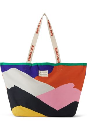 Bobo Choses Kids Multicolor Large Print Shopping Tote