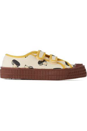 Bobo Choses Kids Off-White Doggie All Over Scratch Sneakers