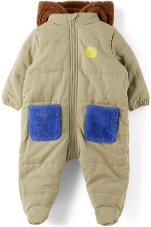 Bobo Choses Baby Face Overall Jumpsuit