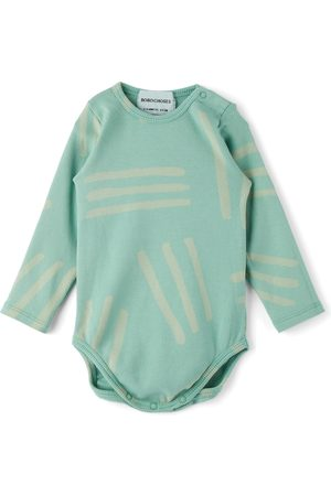 Bobo Choses Baby Blue Scratch All Over Bodysuit