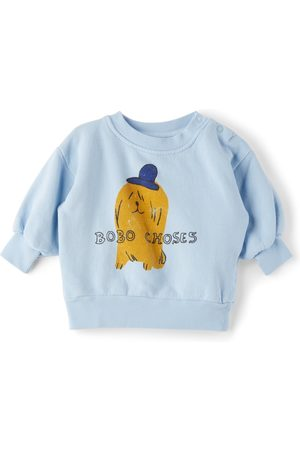 Bobo Choses Baby Dog In The Hat Sweatshirt