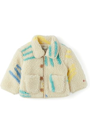 Bobo Choses Baby Off-White Scratch All Over Jacket