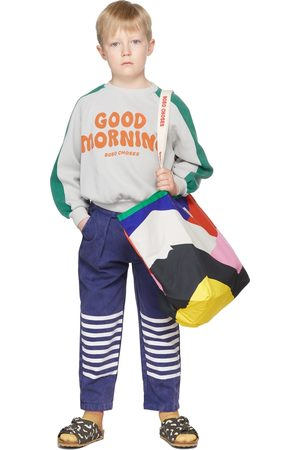 Bobo Choses Kids Stripes Chino Trousers