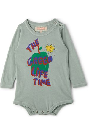 The Animal Observatory Baby Wasp Apple Bodysuit