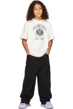 Balenciaga Kids Off-White University T-Shirt