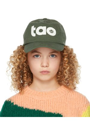 The Animal Observatory Kids Green 'TAO' Big Hamster Cap