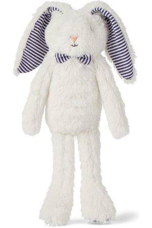 Petit Bateau Boys Bow Ties - Baby White Bunny Bow Tie Plush Toe