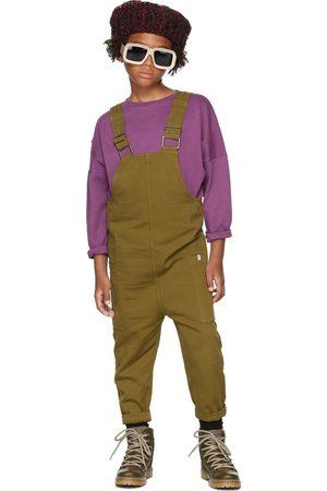 Repose AMS Kids Khaki Organic Cotton Twill Overalls
