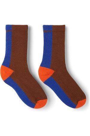 Repose AMS Kids Brown & Blue Sporty Socks