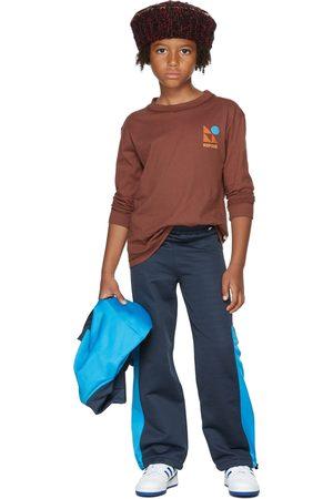 Repose AMS Kids Burgundy Logo Long Sleeve T-Shirt