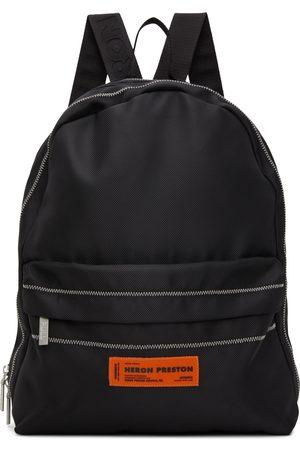 Heron Preston Canvas Logo Backpack