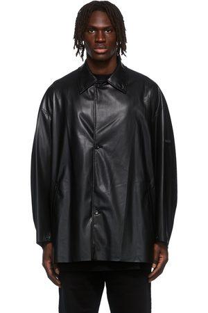 N. HOOLYWOOD Faux-Leather Jacket