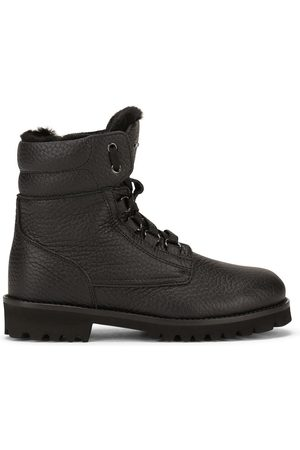 Dolce & Gabbana Boys Ankle Boots - Pebbled-texture ankle boots