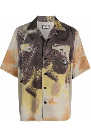 Diesel Men Shirts - All-over print shirt