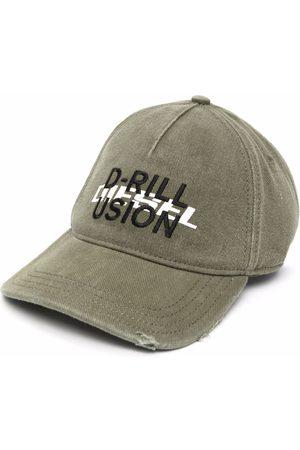 Diesel Men Caps - Graphic-print baseball cap