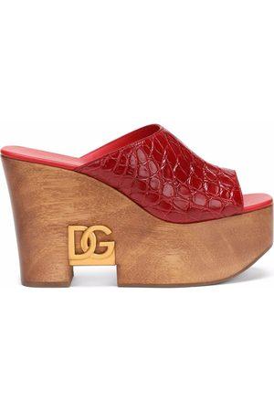Dolce & Gabbana Brigitte 60mm wedge sandals